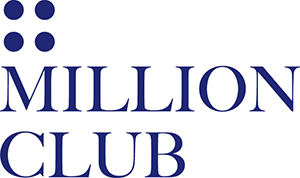 MILLION CLUB logo