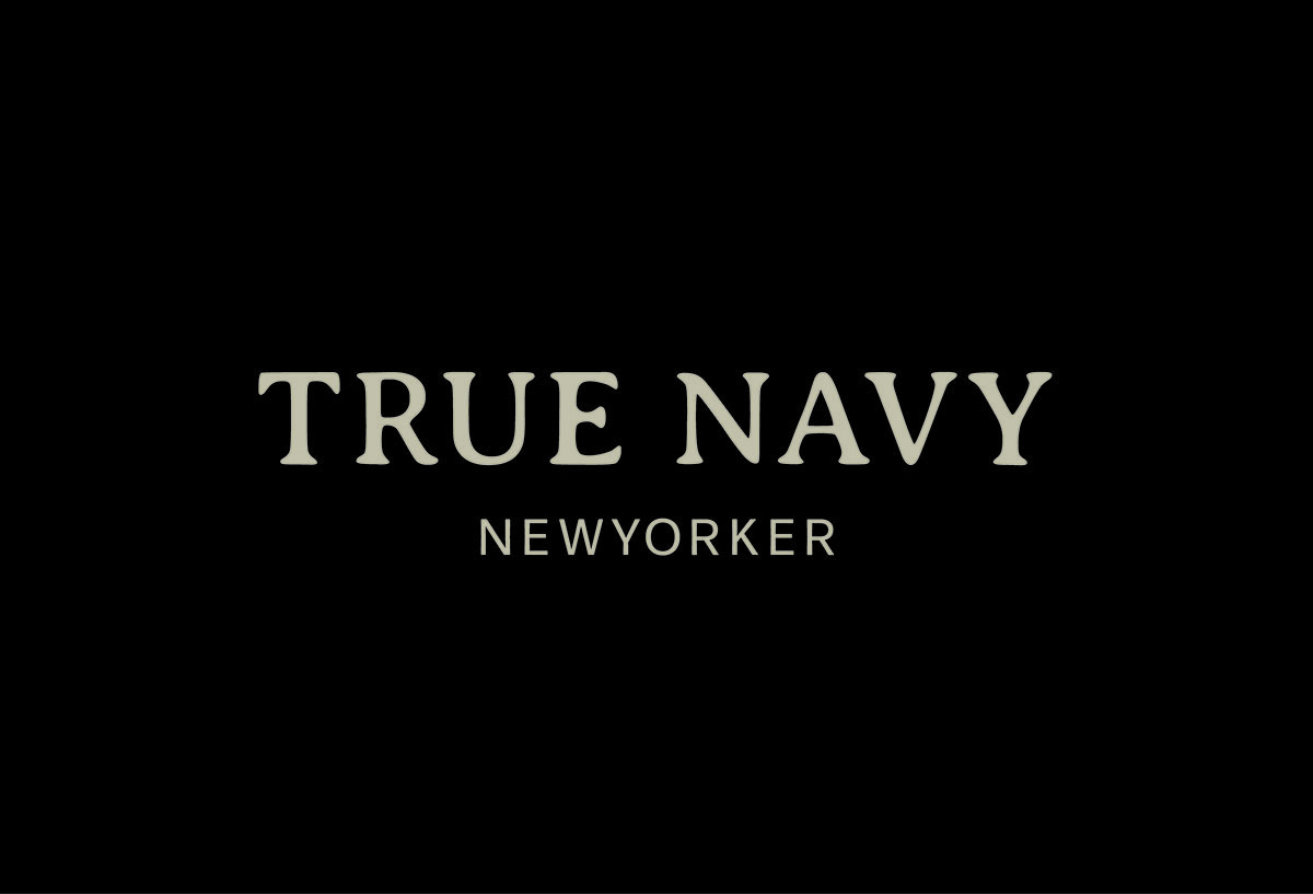TRUE NAVY logo